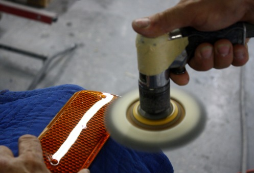 Polishing A Dino 206 Lense