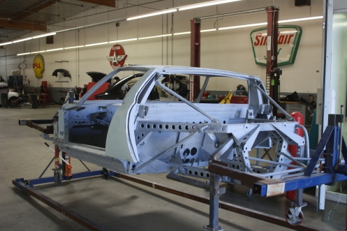 Miura Chassis Ready for 2nd Primer