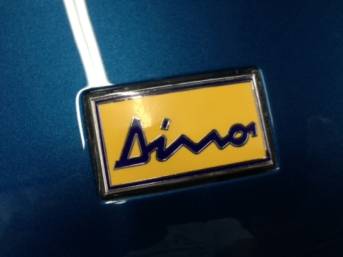 Blue Dino 5 Badge