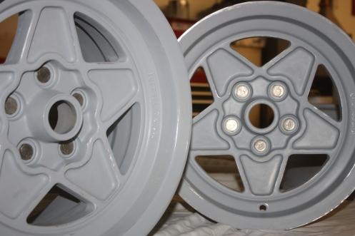 Wheels in Etching Primer